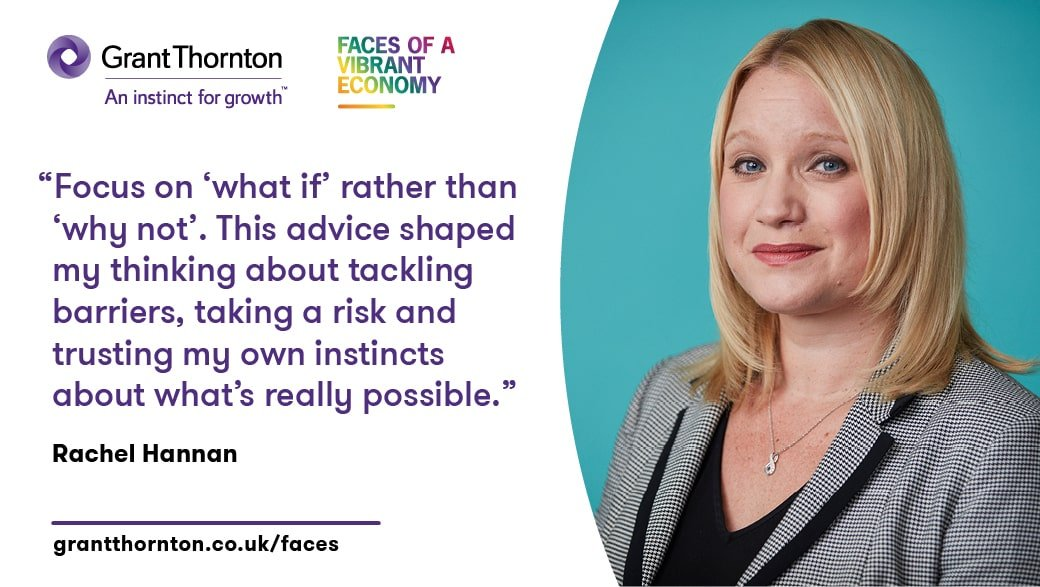 Grant Thornton unveils 2018 Faces of a Vibrant Economy featuring Rachel Hannan
